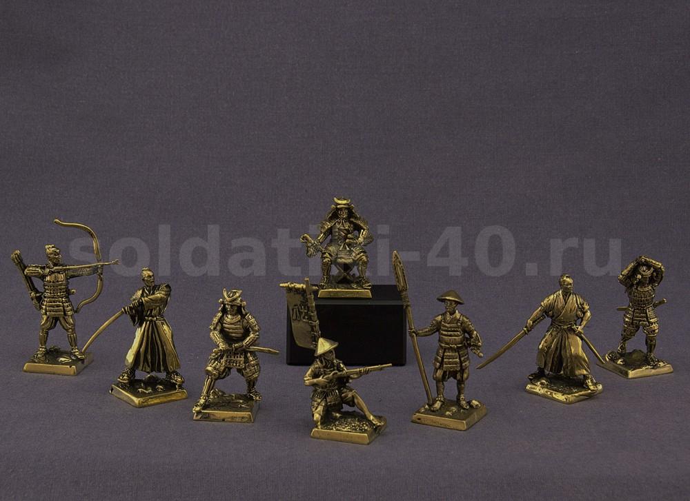 Самураи набор солдатиков
