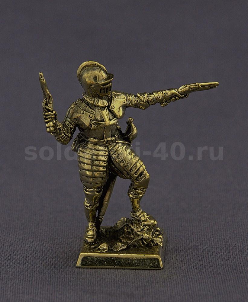 Рыцарь с пистолетами, №6