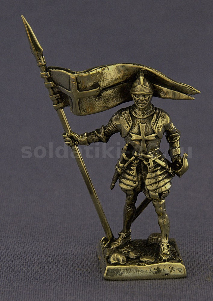 Рыцарь с флагом, №5