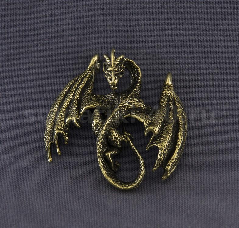 Кулон дракон Зю