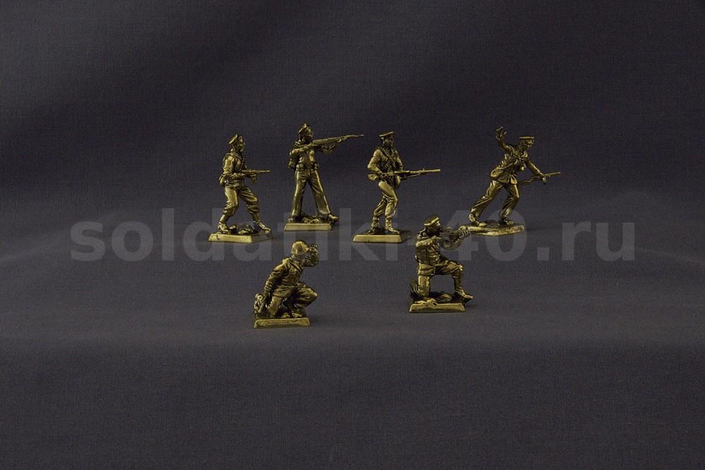 Морская пехота 1942 г – набор солдатиков