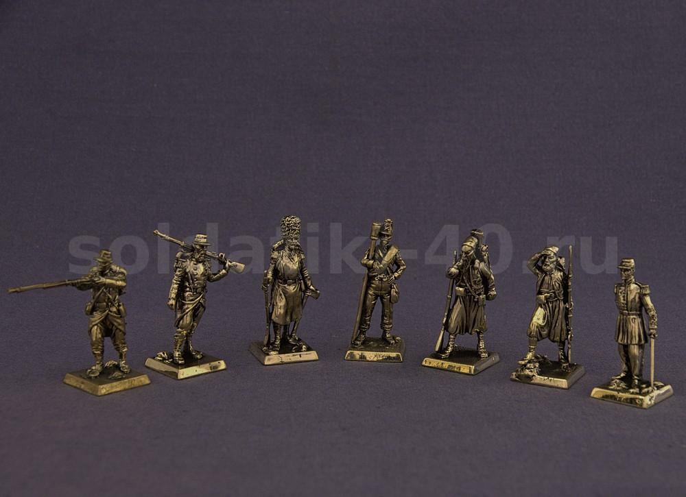 Французская армия 1854 – набор солдатиков