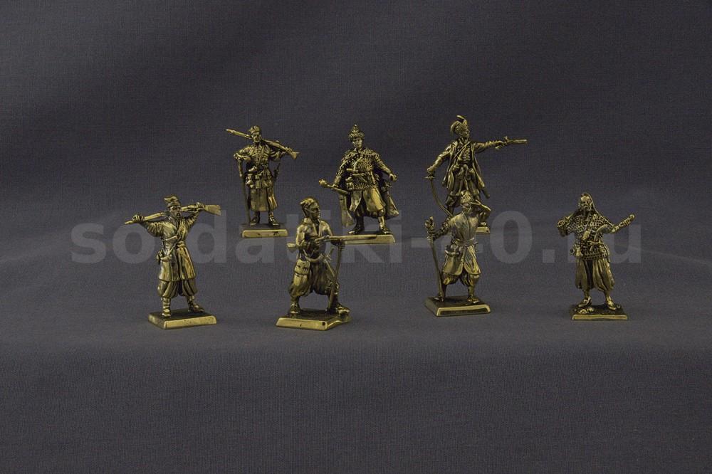 Казаки 17 век – набор солдатиков