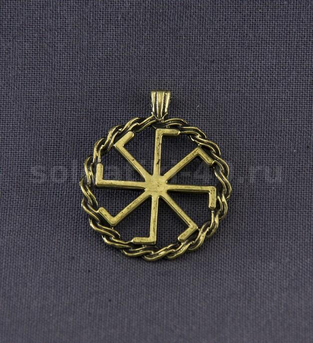 Славянский оберег Крест Лады Богородицы