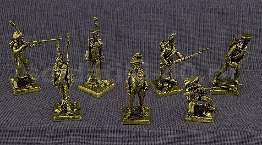 Русская Армия 1812 – набор солдатиков